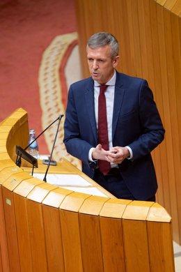 Fotos Xunta / Vicepresidencia / Resposta No Pleno