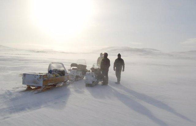 Investigación en el Ártico