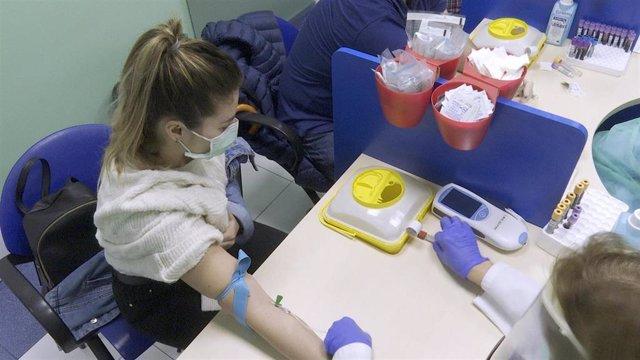 Una de las pacientes que se ha sometido a la prueba de cribado de Osakidetza.
