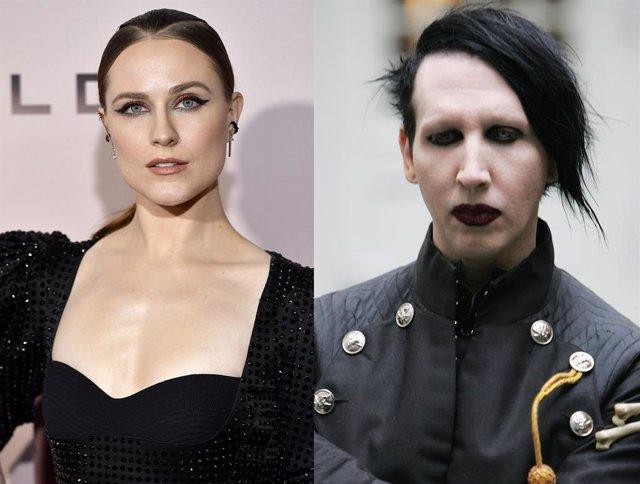 Evan Rachel Wood acusa a Marilyn Manson de abusos sexuales