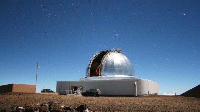 Uno de los telescopios que estudió el objeto 2020 SO