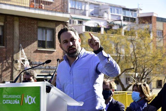 El president de Vox, Santiago Abascal
