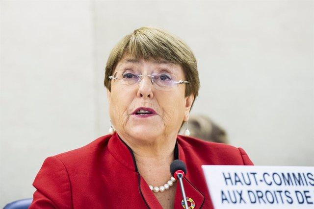Michelle Bachelet, alta comissionada de l'ONU per als Drets Humans