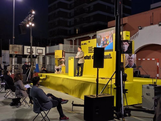 """Av.- 14F.- Junqueras garanteix que ERC no acceptaran els vots del PSC: """"Som incompatibles"""""""