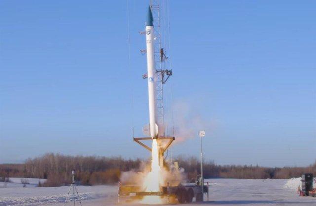 Lanzamiento de Stardust 1, primer cohete propulsado por biocombustible