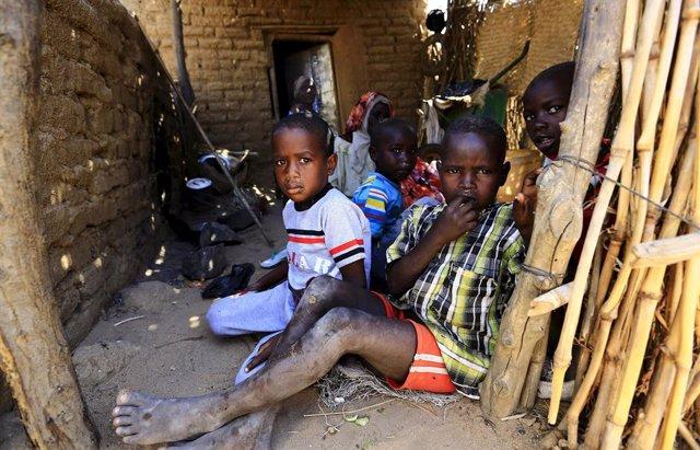 Desplazados Internos en Sudán