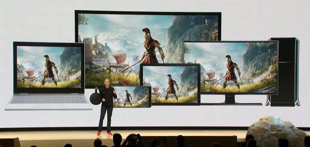 Plataforma de juego streaming Stadia de Google