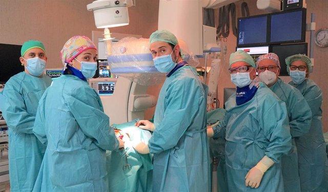 Unidad de Angiología y Cirugía Vascular del Hospital Ruber Internacional.