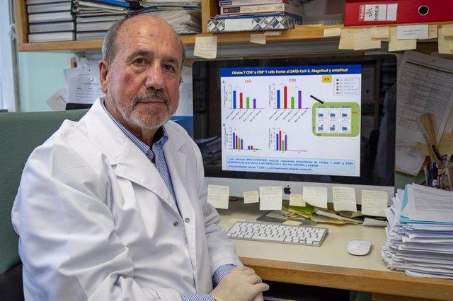 Mariano Esteban    Retrato de Mariano Esteban. Científico del CNB-CSIC