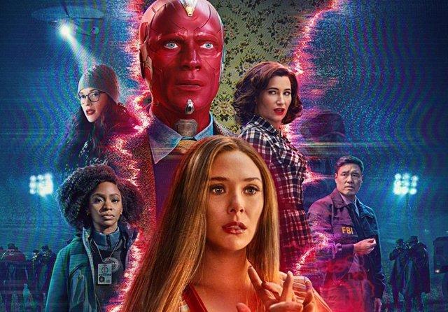 Los secretos del nuevo poster de Bruja Escarlata y Visión... ¿Con el Diablo Mephisto?
