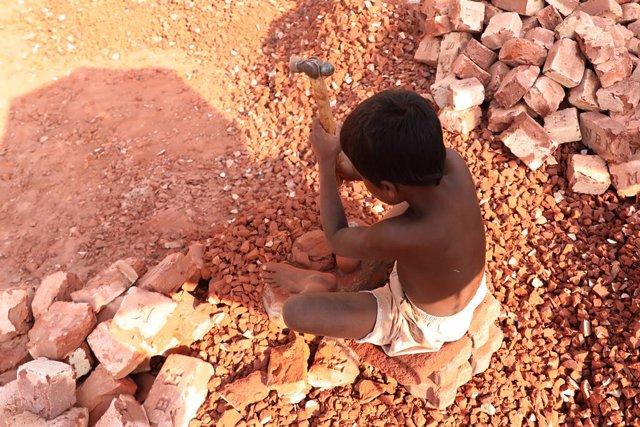 Trabajo infantil en Daca, Bangladesh