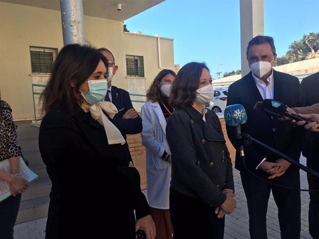 La delegada de la Junta de Andalucía en Málaga, Patricia Navarro, en Torremolinos