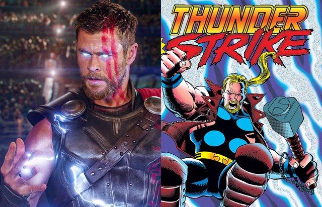 Los secretos del nuevo traje de Thor en Love and Thunder