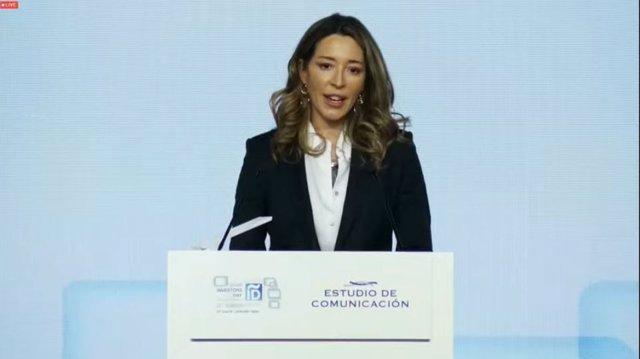 La secretaria de Estado de Comercio, Xiana Méndez.