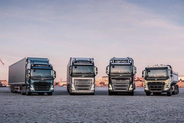 Gama de vehículos de Volvo Group
