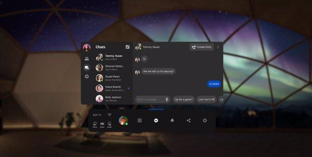 Messenger en Oculus