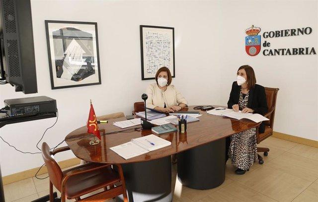 La Consejera De Acción Exterior, Paula Fernández, Participa En La Reunión De La Delegación Española En El Comité De Las Regiones De Europa (Cdr)