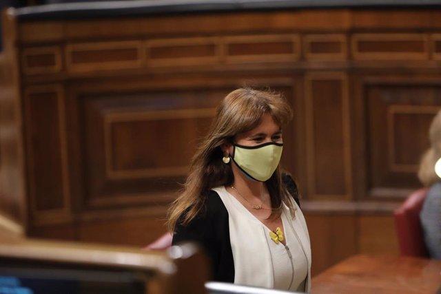 La portavoz de Junts en el Congreso, Laura Borrás.