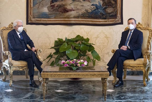 Sergio Mattarella i Mario Draghi