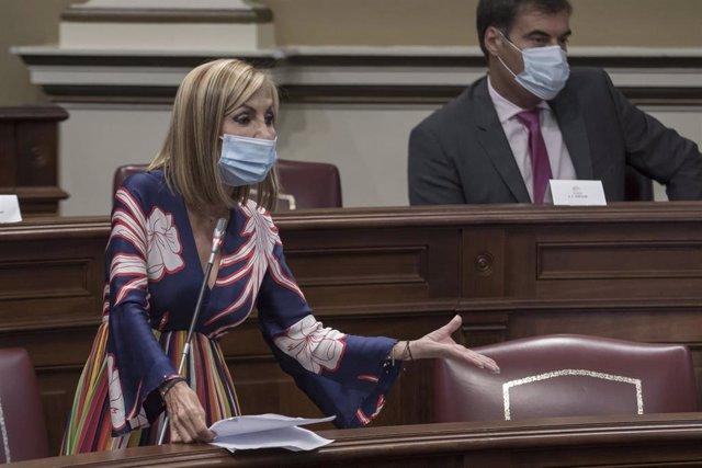 """Navarro (PP) afirma que Canarias está """"desbordada"""" por la migración irregular y denuncia el """"abandono"""" del Gobierno"""