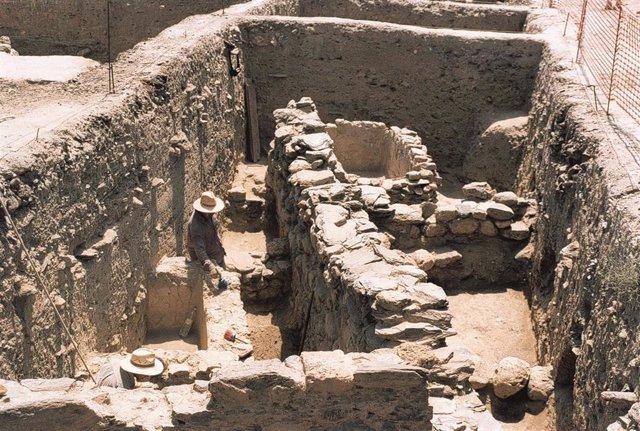 Excavaciones en Villaricos (Almería)