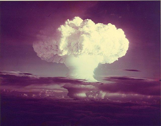 Detonación de la primera bomba de hidrógeno