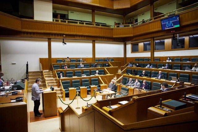 Debate en el Parlamento Vasco