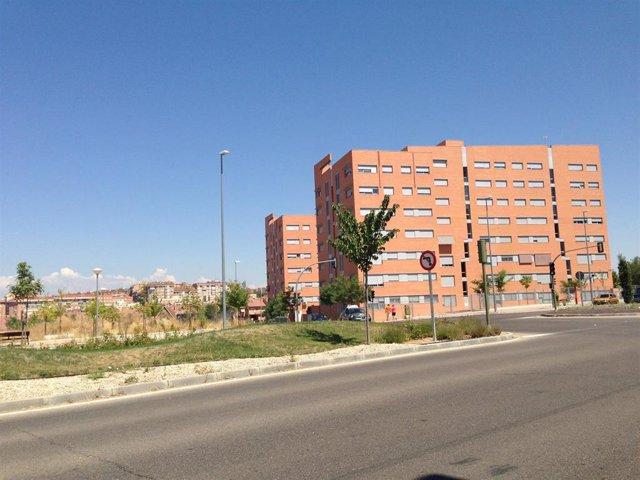 Imagen de recurso de unas viviendas nuevas.