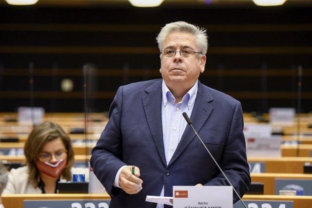 El europarlamentario socialista Ignacio Sánchez Amor.