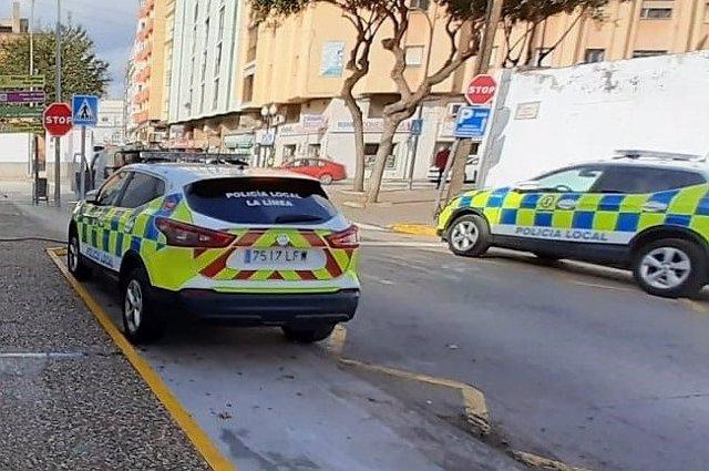 Vehículos de la Policía Local de La Línea