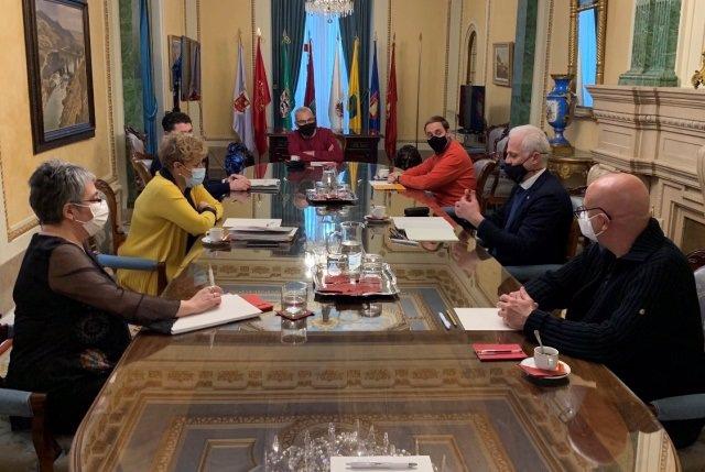 Encuentro entre la Diputación Foral de Álava y el Ayuntamiento de Logroño