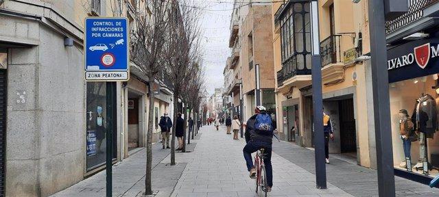 Comercios cerrados en Badajoz