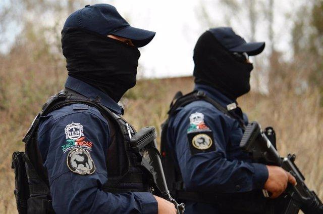 Policía estatal de Zacatecas, México