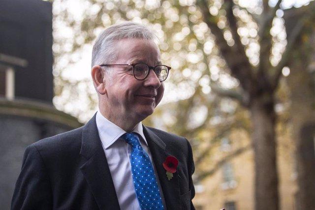 El ministro de Gabinete y 'número dos' del Gobierno británico, Michael Gove.