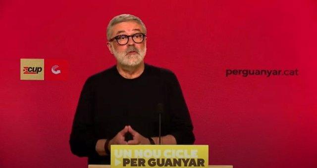 El numero 2 de la CUP en les eleccions, Carles Riera