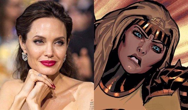 Angelina Jolie Explica Por Qué Se Unió A Los Eternos De Marvel