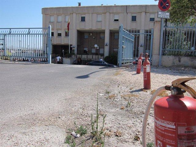El Centro de Internamiento de Emigrantes (CIE) de Sangonera la Verde (Murcia).