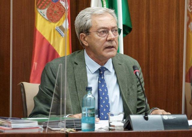 El consejero de Transformación Económica, Rogelio Velasco, en una imagen de archivo.