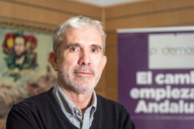 Vicente Camacho, portavoz municipal de Podemos Cádiz