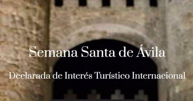 La Diócesis de Ávila suspende las procesiones de Semana Santa.