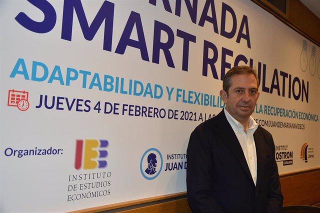 El presidente del IEE, Íñigo Fernández de Mesa