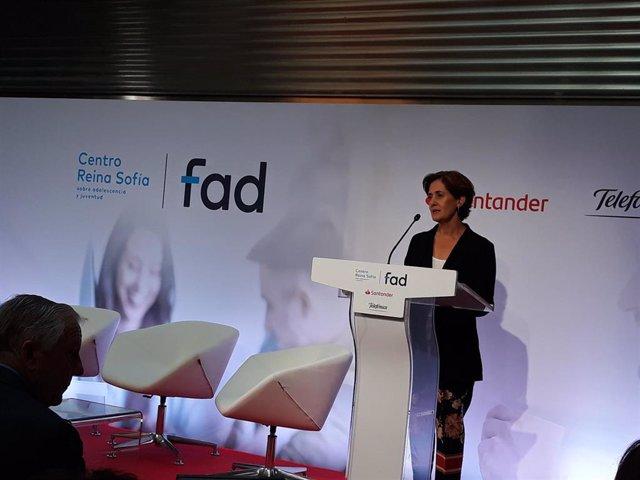 La directora general de la Fad, Beatriz Martín Padura