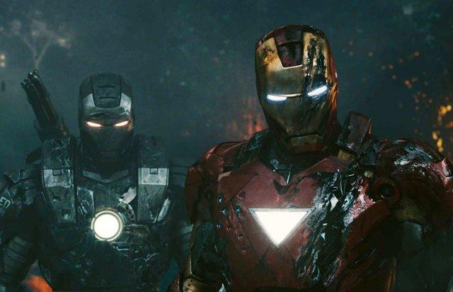 Iron Man y Máquina de Guerra
