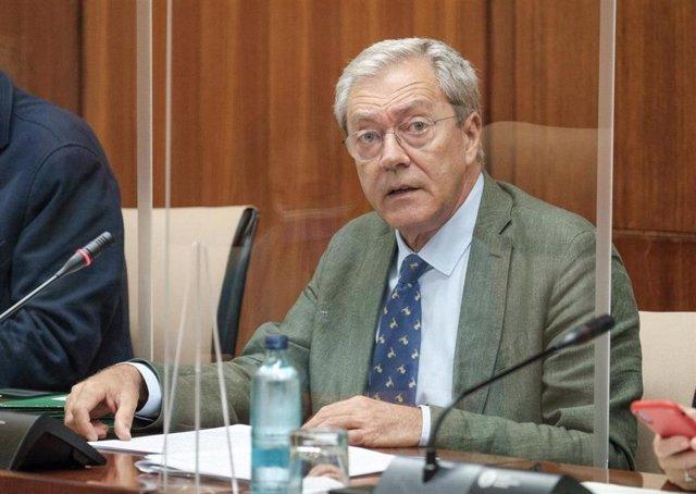 El consejero de Transformación Económica, Industria, Conocimiento y Universidades, Rogelio Velasco, en una foto de archivo.