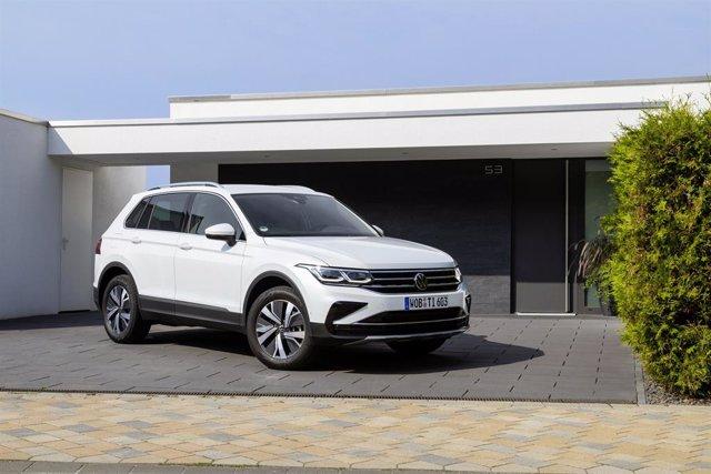 Volkswagen Tiguan híbrido enchufable.