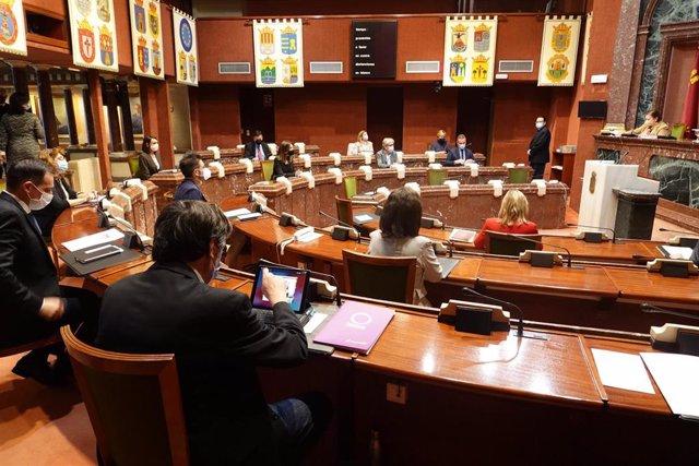 Imagen de la reunión de la Diputación Permanente