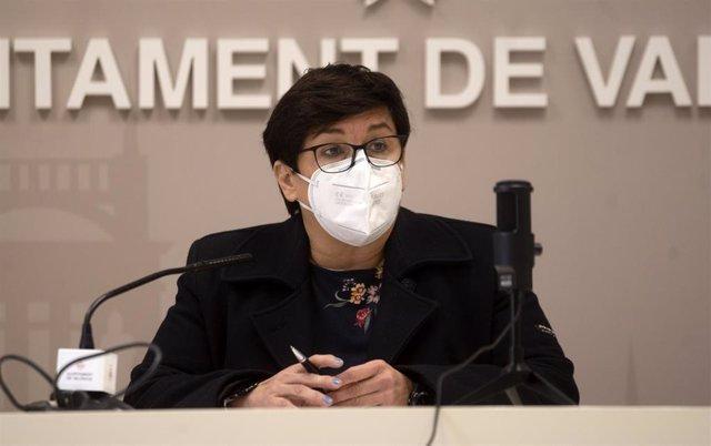 La concejala de Gestión de Recursos en el Ayuntamiento de València, Luisa Notario, a quien se suplantó en el correo electrónico recibido.
