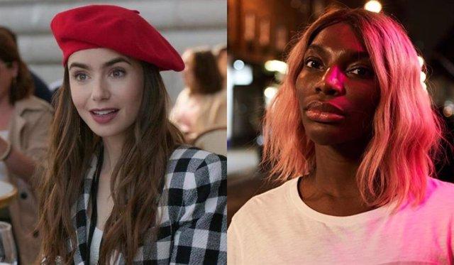 Una guionista de Emily in Paris lamenta que su serie esté nominada a los Globos de Oro y Podría destruirte no