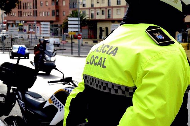 Policía Local en el Ayuntamiento de Jerez
