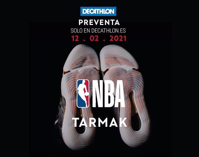 Decathlon anuncia la preventa de la colección de la NBA.